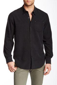 Skyscraper Silk Long Sleeve Regular Fit Shirt