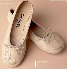 Chanel Cambon Flat... I will get these one day!!!!! I need these more than ne thing!