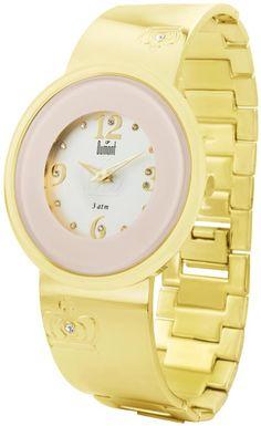 Super feminino, o Relógios Dumont SX85294H é ideal para mulheres que gostam de acessórios mais delicados. O clima da realeza sobressai neste relógio que combina o detalhe do vidro rosa e mostrador com fundo branco em baixo relevo, com pulseira que é um mix de bracelete. Vem com cristais nos marcadores que completam o clima de glamour.