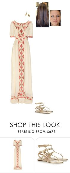 """Sem título #7790"" by gracebeckett ❤ liked on Polyvore featuring Alice by Temperley, Valentino and Catherine Zoraida"