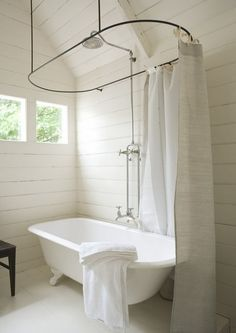 15 Incredible Freestanding Tubs With Showers | Pinterest | Clawfoot ...
