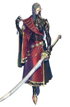Game Character Design, Fantasy Character Design, Character Design Inspiration, Character Concept, Character Art, Concept Art, Dnd Characters, Fantasy Characters, Samurai Concept