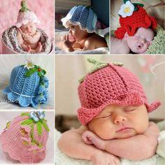 Crochet+Bluebell+Hats