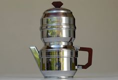 art deco coffee press / french vintage coffee tea by BOULOTDODO