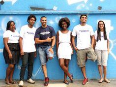 No Alemão. Os jovens selecionados para implantarem projetos na comunidade  Foto: Bia Guedes