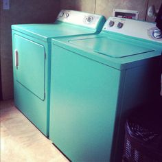 this is the color we're thinking of painting our new washer and dryer!