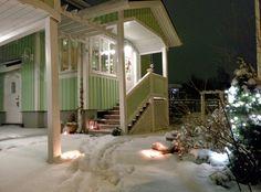 Jouluaattona 2014 satoi lunta.