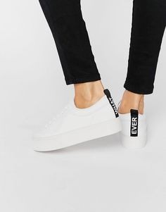 Image 1 of Pull&Bear Message Sneaker