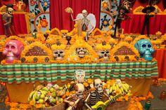 aAltares del Día de Muertos en México