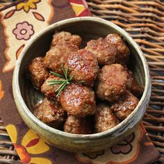 Bourbon Cider Meatballs. this one sounds de-lish, and no beef! yay!