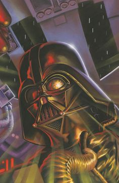 Darth Vader and the Cry of Shadows #4 /by Felipe Massafera #StarWars #art