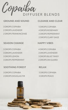 What's your favourite way to diffuse Copaiba? We love this Relax blend!