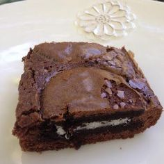 Oreo Brownies - Simple and to the point. add frosting or coolwhip easy for alexis party