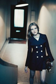Natalia Vodianova in Louis Vuitton by Paolo Roversi for Interview Magazine March 2015