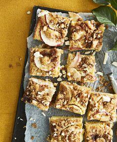 Omena-valkosuklaapiirakka | Makea leivonta | Soppa365