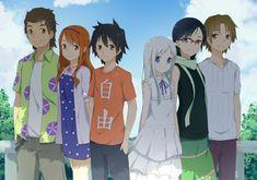 anohana by on DeviantArt Friends Growing Apart, Otaku, Anime Watch, Childhood Friends, Sword Art, Deviantart, Menma Anohana, Flower, Angel Beats