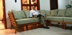 """""""Sinceramente, el equipo de Lolo Morales® goza el tener la destreza de darle a uno lo mejor de nuestros sueños, en el estilo que sea, en la madera que sea, en el tiempo exacto, en la calidad esperada y al precio correcto, por eso es que en Nicaragua hablar de muebles finos de calidad es hablar de Lolo Morales""""         Eddy Jeréz"""