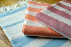 Bolu Linen Towel - Authentic Turkish Towel - Eco-friendly Hammam Towel - Perfect Travel Towel - Pestemal