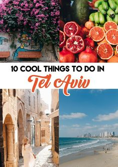 10 COOL Things To Do in Tel Aviv, Israel including where to visit, stay and eat! tel aviv 10 COOL Things To Do in Tel Aviv Places To Travel, Places To See, Travel Destinations, Holiday Destinations, Travel Guides, Travel Tips, Work Travel, Travel Goals, Budget Travel