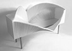 Waving Wooden Cabinet – Fubiz™