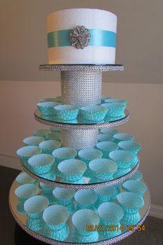 Cupcake Stand by PadipaDesigns on Etsy, $200.00