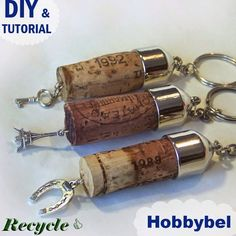 """idea riciclo creativo tappi sughero vino - DIY wine cork craft tutorial   Tutorial  di riciclo creativo  """" vintage """": come recuperare  ..."""