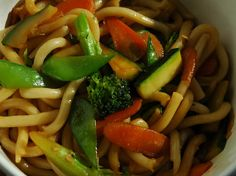 Stir fry noodles with veggies!