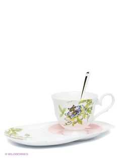 "Чайная пара ""Итальянская Роза"" (Pavone), Pavone на Маркете VSE42.RU Tea Cups, Tableware, Dinnerware, Tablewares, Dishes, Place Settings, Cup Of Tea"