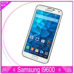 "Original <font><b>Samsung</b></font> <font><b>Galaxy</b></font> <font><b>S5</b></font> i9600 G900F G900H G900A G900T Cell Phones Quad Core 5.1"" Super AMOLED Android 16GB ROM Refurbished Price: USD 553.76 