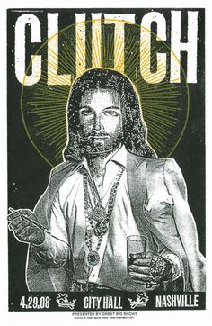 PRINT MAFIA . Clutch: Party Jesus