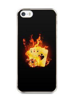 Capa Iphone 5/S Poker #1 - SmartCases - Acessórios para celulares e tablets :)