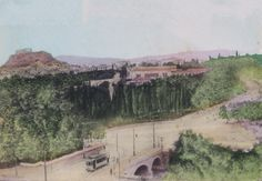 [Image replaced with mirror version, as suggested below. 3 Dec [image replaced with original hand-coloured image, 9 Jan Image file source: scanned from private collection of MBE Athens Greece, Vintage Photos, Paris Skyline, History, Photographs, Travel, Image, Greece, Historia