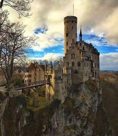 Liechtenstein slott. Foto: sassychris1
