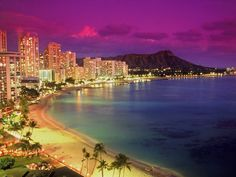 The Beautiful Scenery Hawaiian Islands