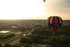 Photo of our hot air balloons | France Montgolfieres, hot air ballon flights in France, Loire valley balloon rides, Burgundy balloon rides, Paris balloon ride, Provence balloon rides,