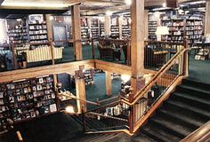 The Tattered Cover, Denver, Co. You could get lost in here. Amazing bookstore!