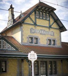 Het geklasseerd tramstation van De Haan-Wenduine