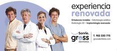 Gross Dentistas: Experiencia renovada Dental Implants, Sleep Apnea, Self Confidence