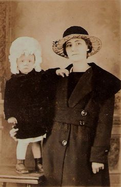 Mother and Child- love the hats!