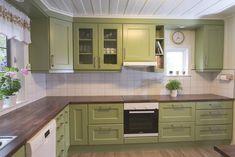 Kjøkken — Vidars Møbelsnekkeri Decor, Kitchen Cabinets, Cabinet, Home Decor, Kitchen