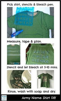Bleach Pen Shirt.  Ha.  That's cool.