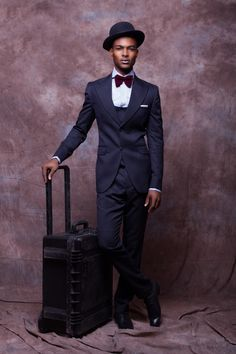 "Brand: McMeka Couture Designer: Rodney Emeka 2013/2014 Fall/Winter Collection Lookbook ""Work Hard Play Hard"""