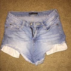 High wasted shorts Also got these from hot topic. Size 3 Hot Topic Shorts Jean Shorts