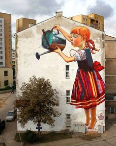 Awesome Street Art Reminds Me That Spring Is Here! 3/20/14