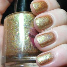 Sweetcheeks Polish: Gothic Ember and Shattered Nuclei Swatch, Shots, Nail Polish, Nail Art, Nails, Beauty, Finger Nails, Ongles, Nail Polishes