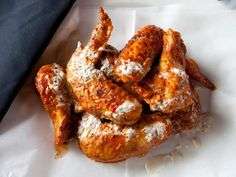 chicken wings served with Alabama white sauce are shown here. Expect the . - Food and Drink -Smoked chicken wings served with Alabama white sauce are shown here. Expect the . - Food and Drink - Smoked Chicken Quarters, Smoked Chicken Wings, Super Bowl Party, Sauce Recipes, Meat Recipes, Quick Recipes, Yummy Recipes, Free Recipes, Dinner Recipes