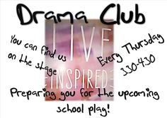 We are excited to offer a new extra-curricular activity for students in Year 7-10s. Beginning Thursday 29th January.