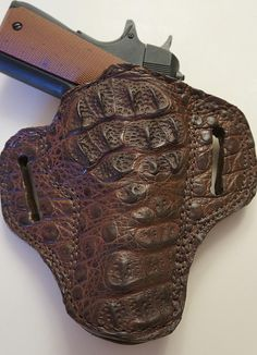 Wicho Leather Creations   EXOTIC GUN HOLSTERS