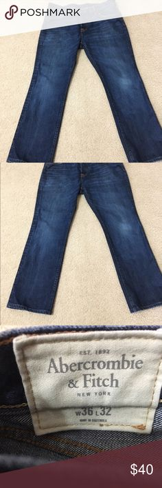 Men's Abercrombie & Fitch boot jeans. 36x32. Abercrombie & Fitch Jeans Bootcut