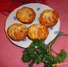 Mafiny (mufiny) ze syrových brambor Baked Potato, Potatoes, Baking, Breakfast, Ethnic Recipes, Cupcake, Food, Morning Coffee, Potato